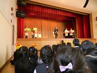 上野台幼稚園2月の誕生会