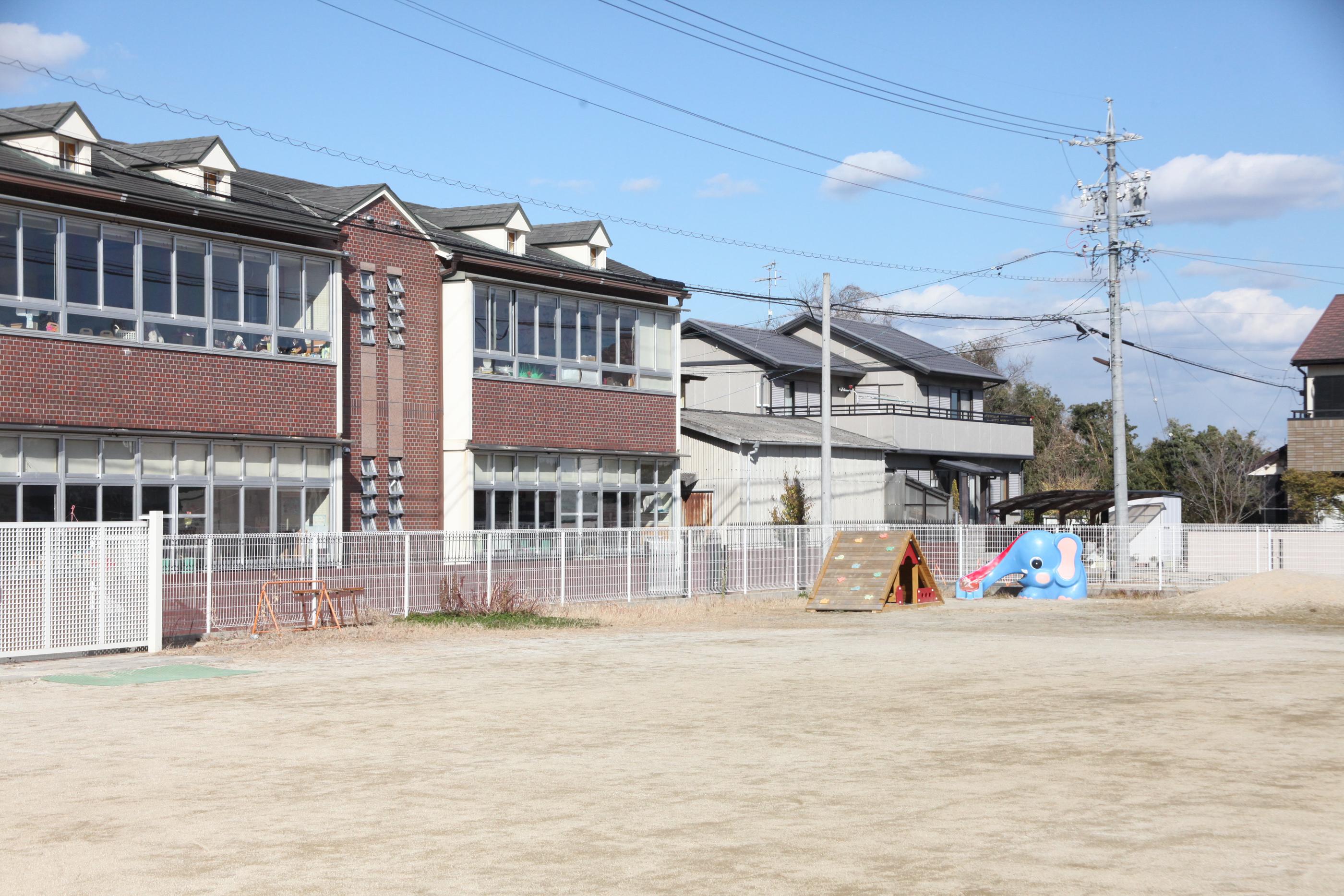 上野台幼稚園第2園庭遊具