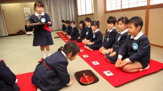 上野台幼稚園茶の湯