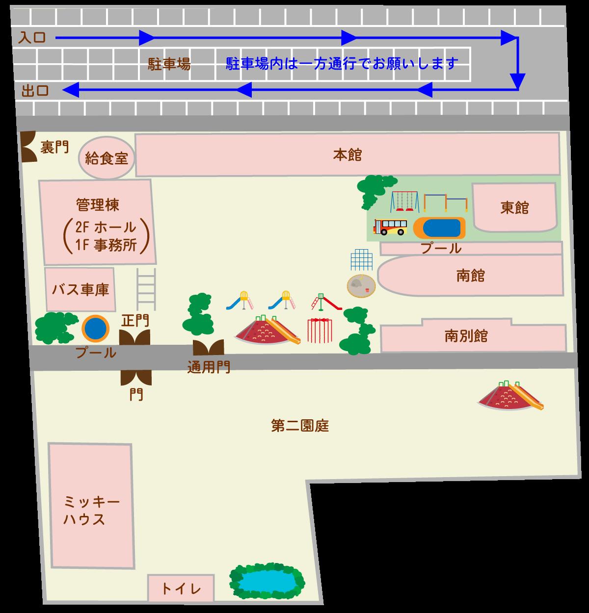 上野台幼稚園施設紹介1F