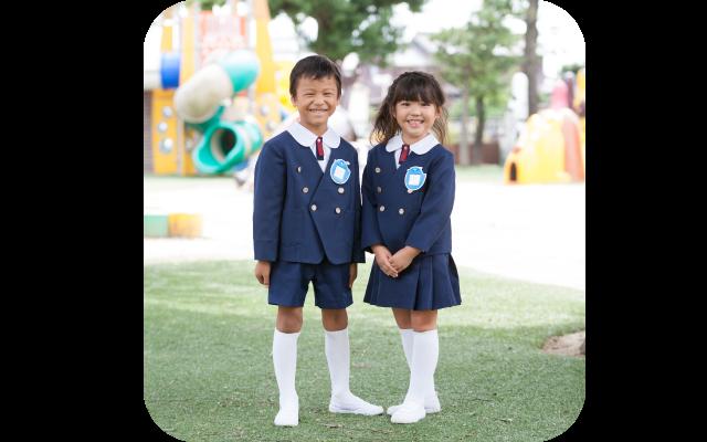 上野台幼稚園制服