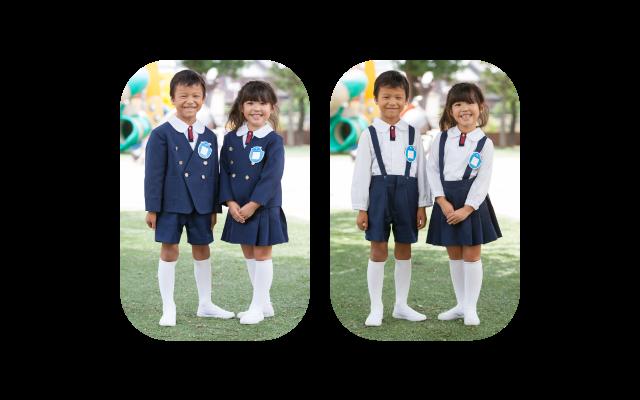 上野台幼稚園旧制服