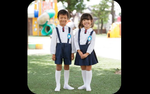 上野台幼稚園夏服