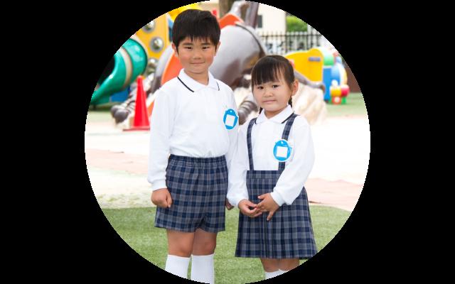 上野台幼稚園新制服ブレザーなし